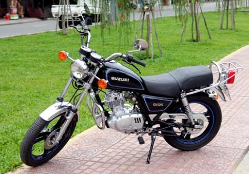 Suzuki GN-125: Kỷ vật 12 năm của người Sài Gòn