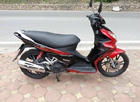 Suzuki Hayate màu đỏ đen
