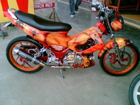 Suzuki Raider 150 Cáo lửa xuất hiện