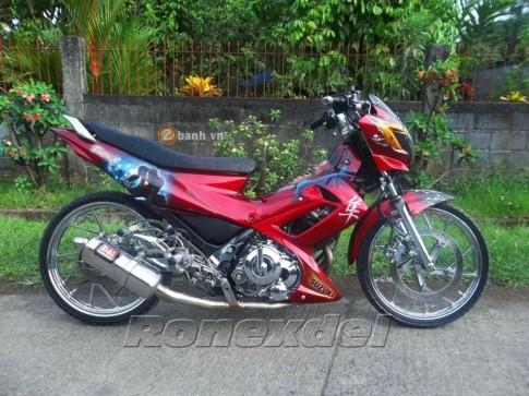 Suzuki Raider 150 Chiến binh Iron Man