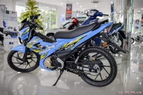 Suzuki Raider 150 chính thức ra mắt tại Sài Gòn