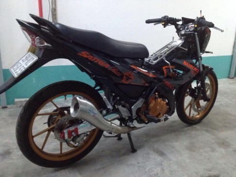 Suzuki Raider 150 do it do choi