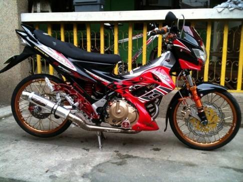 Suzuki Raider 150 Do kieng Racing Boy