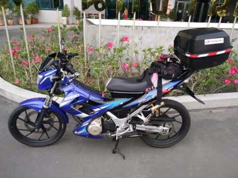 Suzuki raider do full do nghe touring