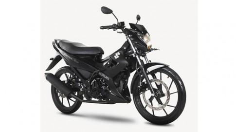 Suzuki Raider mới vừa ra mắt phiên bản đặc biệt