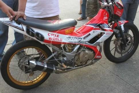 Suzuki Raider phiên bản đấu trường