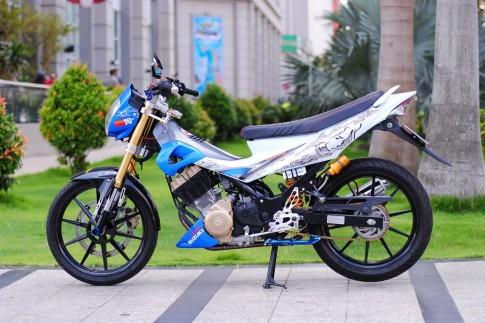 Suzuki Satria F độ đầy đam mê và nhiệt huyết của biker Việt