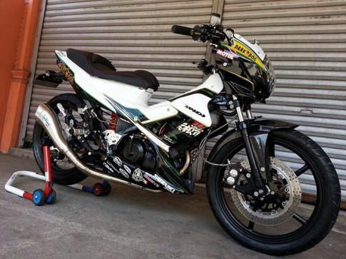 Suzuki Satria F150 độ cực kì hung hãn