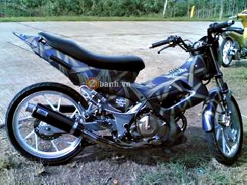 Suzuki Satria F150 tu nuoc ban