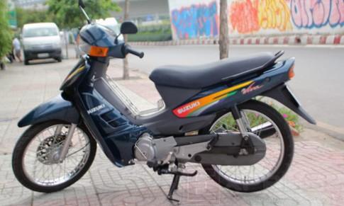 Suzuki Viva 110 sau 13 nam su dung van con nhu moi