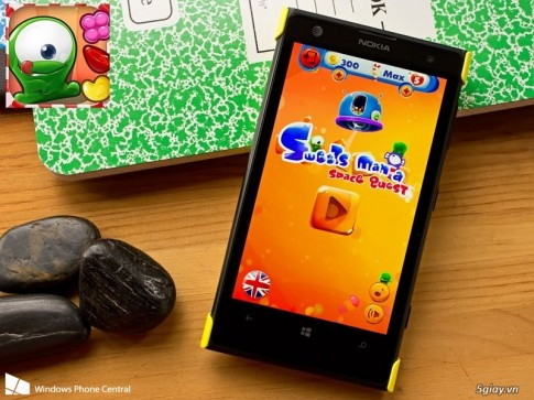 Sweets Mania Space Quest mang phong cach Candy Rush len Windows Phone
