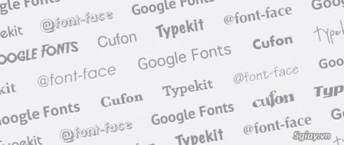 Tải bộ font chữ miễn phí thật độc đáo từ chính Google