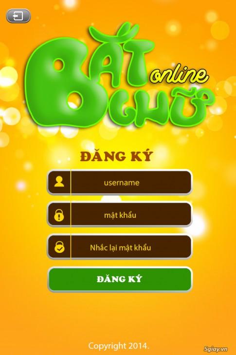 Tải game Bắt chữ online cho Android