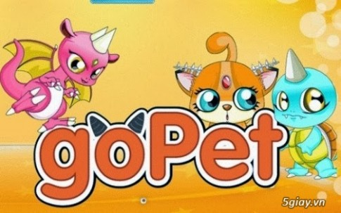 Tai game GoPet moi nhat ve dien thoai