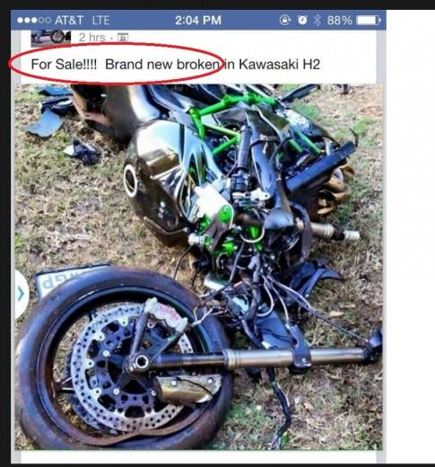"""Tai nạn thảm khốc với """"mãnh thú"""" Kawasaki H2 khiến nài đi xa mãi mãi"""