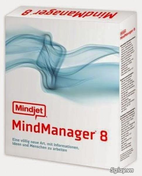 Tai ve Mindjet Mindmanager 8.0 - Chuong trinh tao so do tu duy khoa hoc