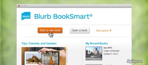 Tao nhanh mot sach anh gia dinh voi Blurb BookSmart