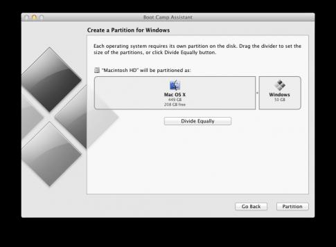 Tao o dia HDD dung chung cho Mac va Win tren Macbook Pro