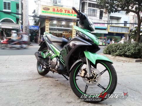 Tem Exciter LC135 2014 - Linh hon xanh.