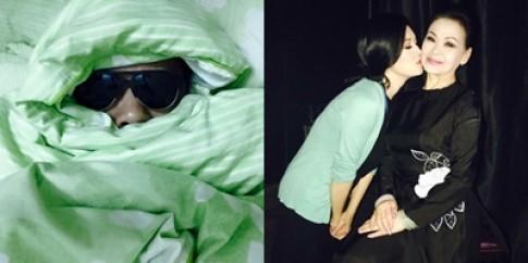 Thái Hòa trùm khăn giả Kỳ Duyên khi ngủ, Thu Phương hôn Khánh Ly