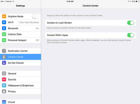 Them 8 tinh nang doc dao ben trong iOS 7