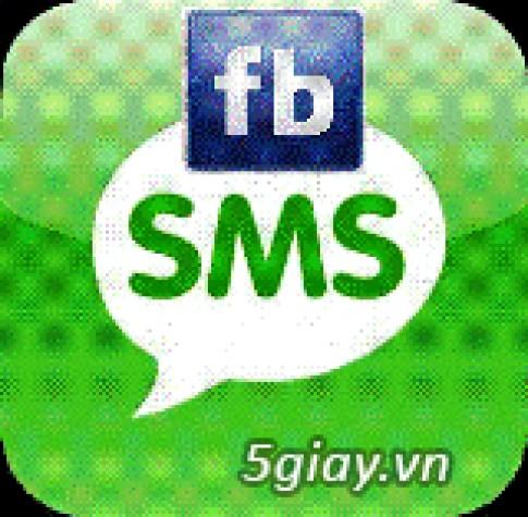 Theo doi va cap nhat status Facebook chi voi SMS dien thoai