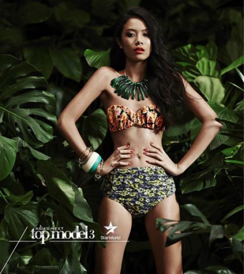Thi sinh Viet Nam suyt bi loai trong tap dau Asia's Next Top Model