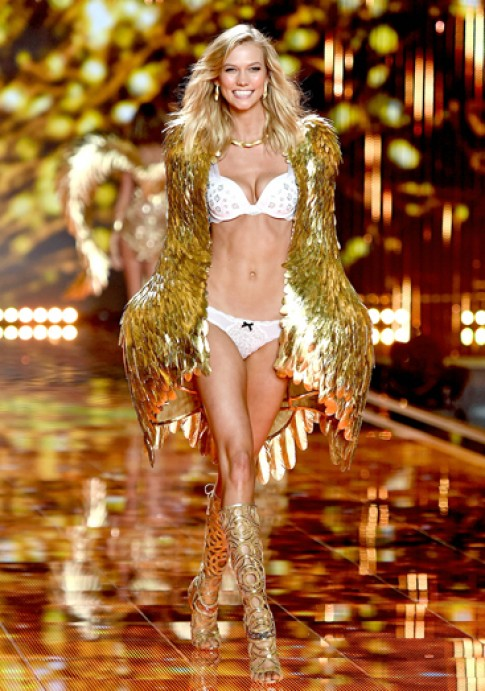 'Thien than' Karlie Kloss va Doutzen Kroes roi Victoria's Secret