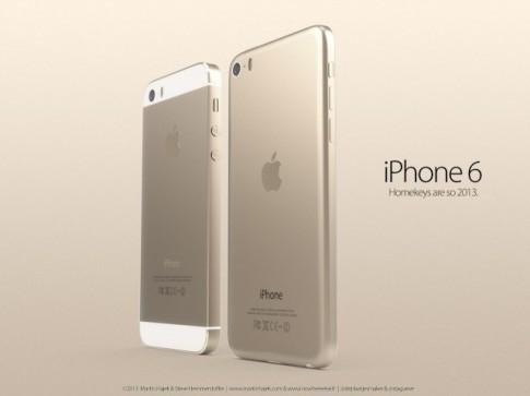 Thiet ke iPhone 6 khong vien man hinh mang phong cach iPad mini ! dep tuyet