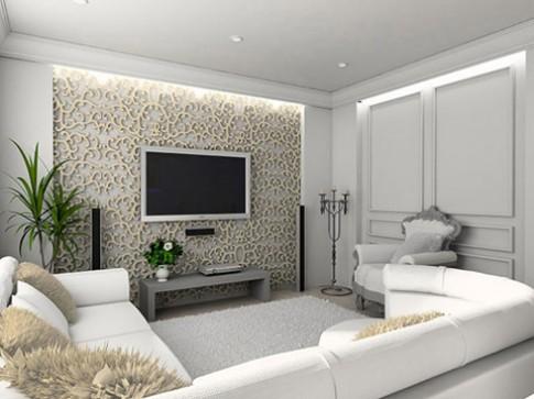 Thiết kế phòng chiếu phim trong nhà
