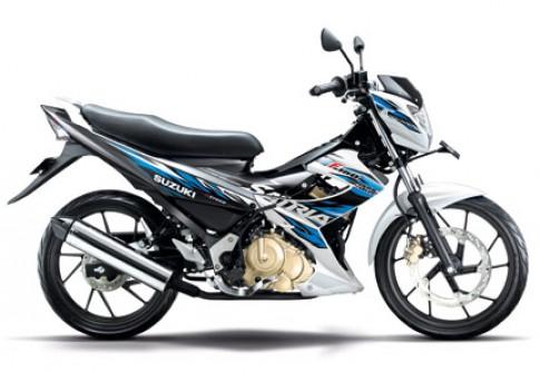 Thiet ke va mau sac Raider R150 ben Indonesia
