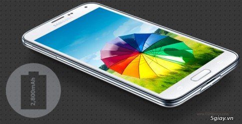 Thoi gian dung pin thuc te cua Samsung Galaxy S5