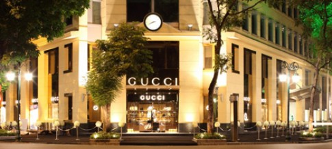 Thoi trang Gucci co mat tai Ha Noi