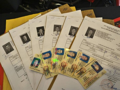 Thông báo lịch nhận hồ sơ thi bằng lái xe A2