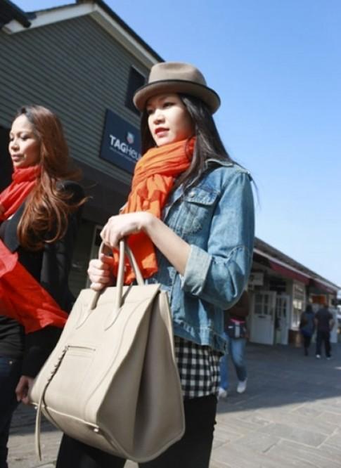 Thú chơi túi hiệu của Hoa hậu Thùy Dung