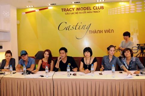 Thúy Hằng làm giám khảo casting người mẫu Tracy