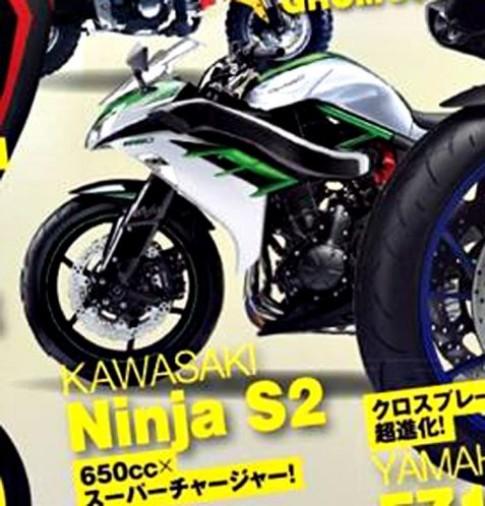 [Tin đồn] Lộ ảnh Kawasaki Ninja S2 dùng động cơ Ninja H2