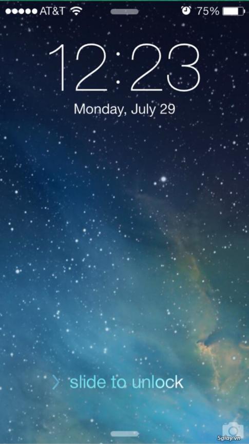 Toan tap bi kip tinh chinh Lockscreen cho iOS 7