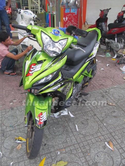 Tổng hợp tem Exciter 2011 - by Thuận Decal