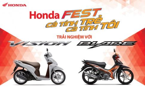 """Trai nghiem xe moi cung """"Honda Fest - Ca tinh tre, ca tinh toi"""""""