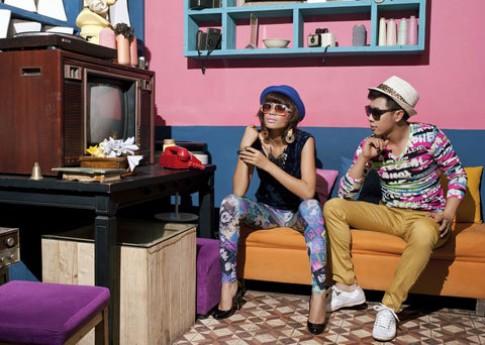 Trang La la loi ben 'hot boy'
