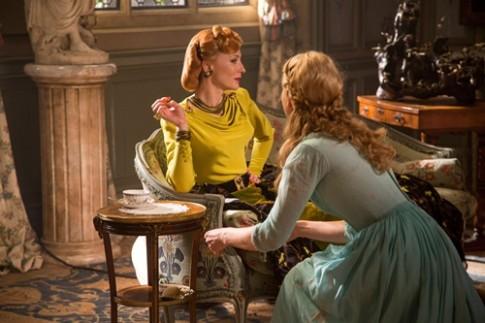 Trang phuc cua cac nhan vat trong 'Cinderella'