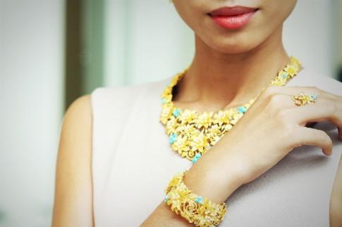 Trang sức vàng Prima sang trọng
