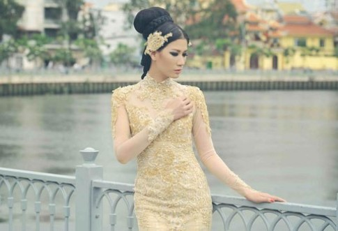 Trang Tran dieu da vay duoi ca