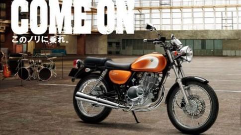 Trẻ trung và đẹp hơn với Suzuki ST250 màu cam mới
