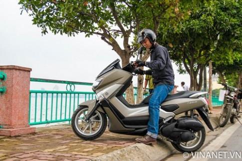 Tren yen Yamaha NM-X mot chiec xe tay ga hoan hao