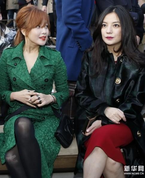 Trieu Vy, Kim Hee Sun xem thoi trang o London