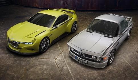 Trình làng BMW 3.0 CSL Hommage, hậu sinh khả uý!