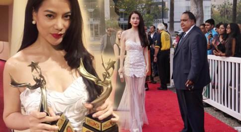 Trương Ngọc Ánh 'một mình' đi nhận giải thưởng điện ảnh quốc tế