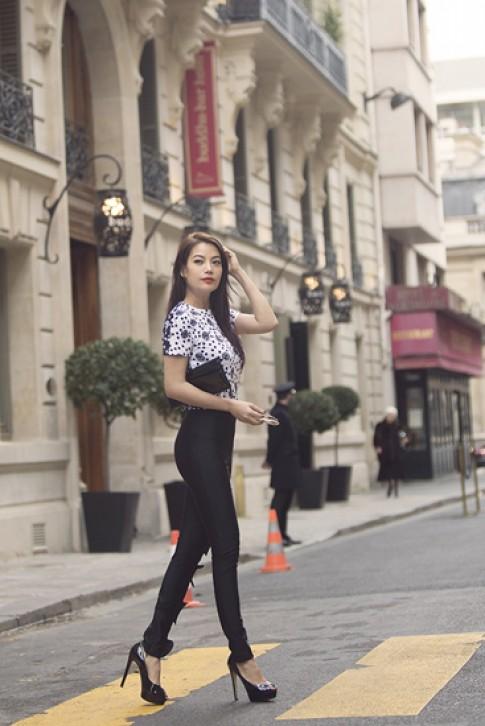 Truong Ngoc Anh sanh dieu o Paris